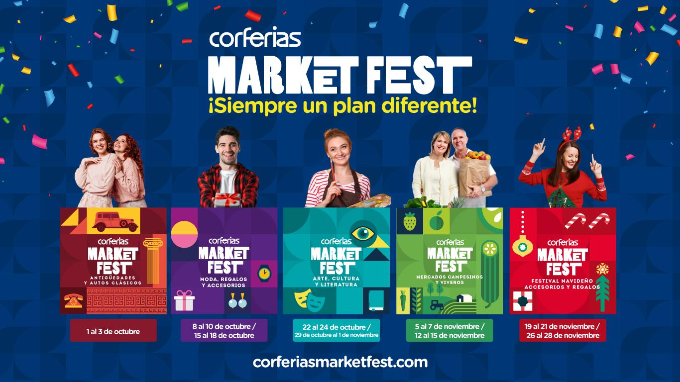 Nace en Bogotá una nueva forma de vivir a BOGOTÁ Corferias Market Fest