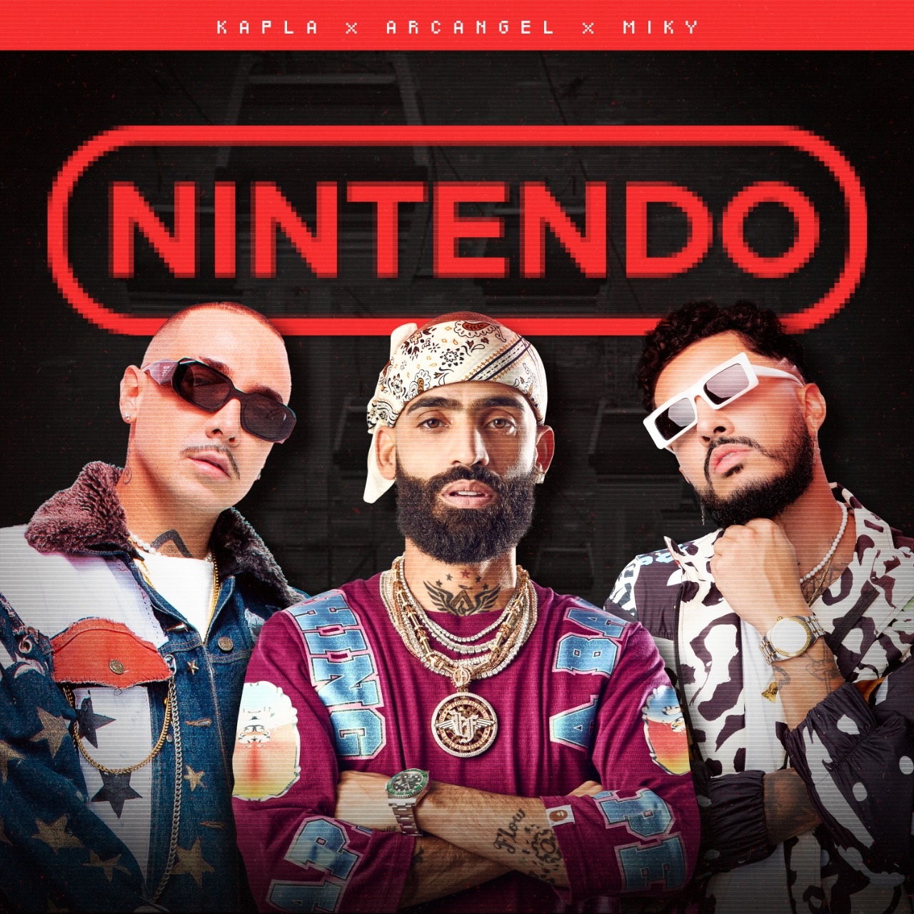 Se estrena el video oficial de Nintendo de Arcángel (la maravilla) junto a Kapla y Miky