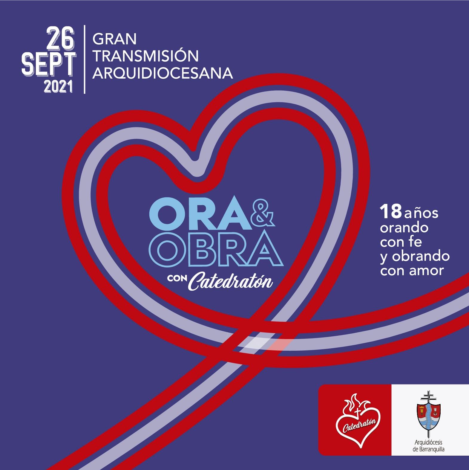 Todo listo para Catedratón 2021, este domingo, en el Cubo de Cristal en Barranquilla – @catedratonbaq