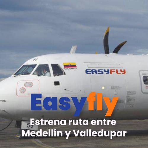 El Clúster de Turismo liderado por la Cámara de Comercio de Valledupar solicitó retorno de vuelos de EasyFly a Valledupar – @EasyflyVuelos