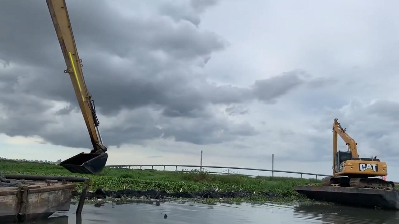 Avanzan los trabajos de Triple A sobre el río magdalena – @SomosTripleA