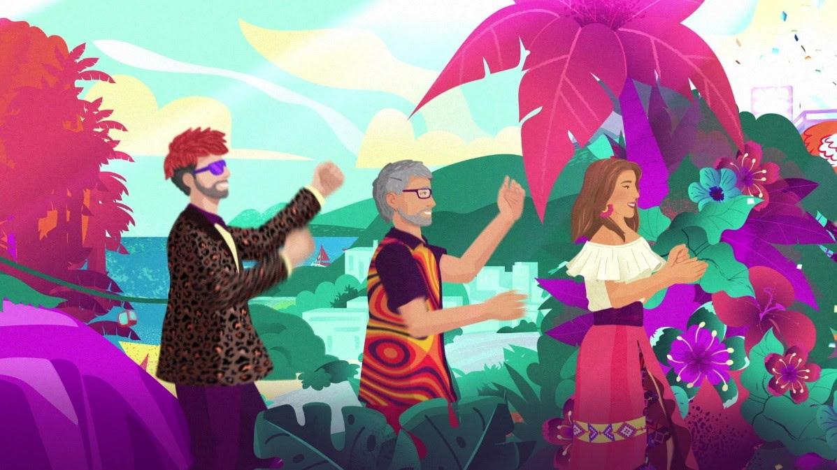 """Soledad presenta el video animado de """"CHINGUI CHINGUI"""" junto a Los Auténticos Decadentes"""