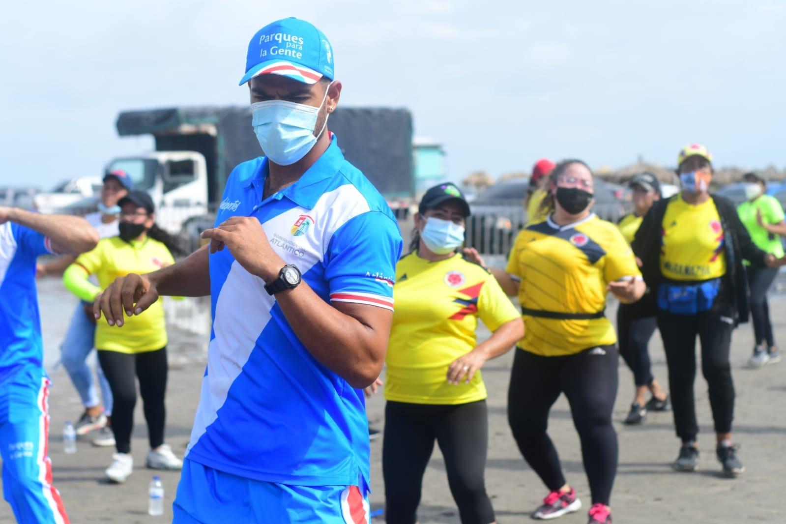 Indeportes Atlántico celebra el Día Mundial de la Actividad Física en Tubará
