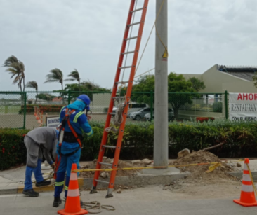 Proyecto de remodelación de redes eléctricas en Salgar avanza en 86% – @aire_energia