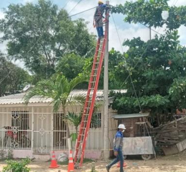 Normalizarán redes en La Esmeralda, Lipaya, Ciudad Modesto y Carrizal este martes – @aire_energia