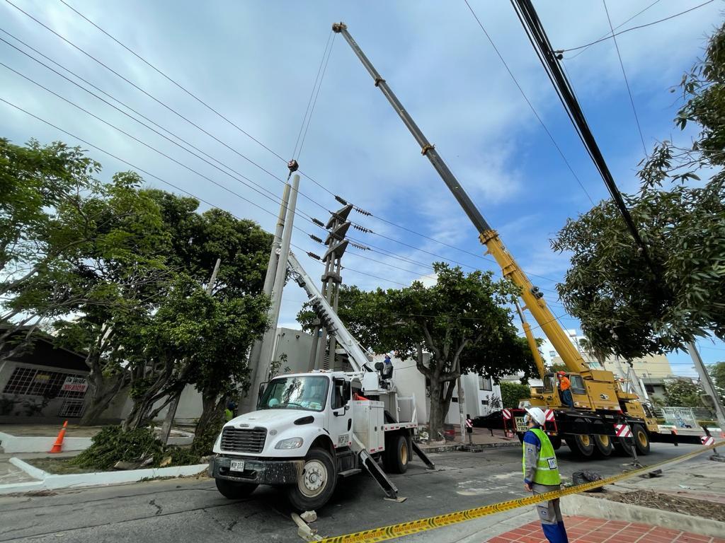 Este sábado 11 de septiembre Adecuaciones eléctricas en sectores de Villa Santos y Corredor Universitario