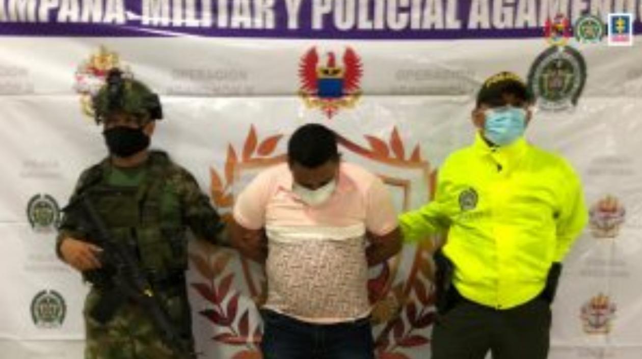Alias 'Carranza', presunto cabecilla del 'Clan del Golfo' en Córdoba, fue enviado a prisión