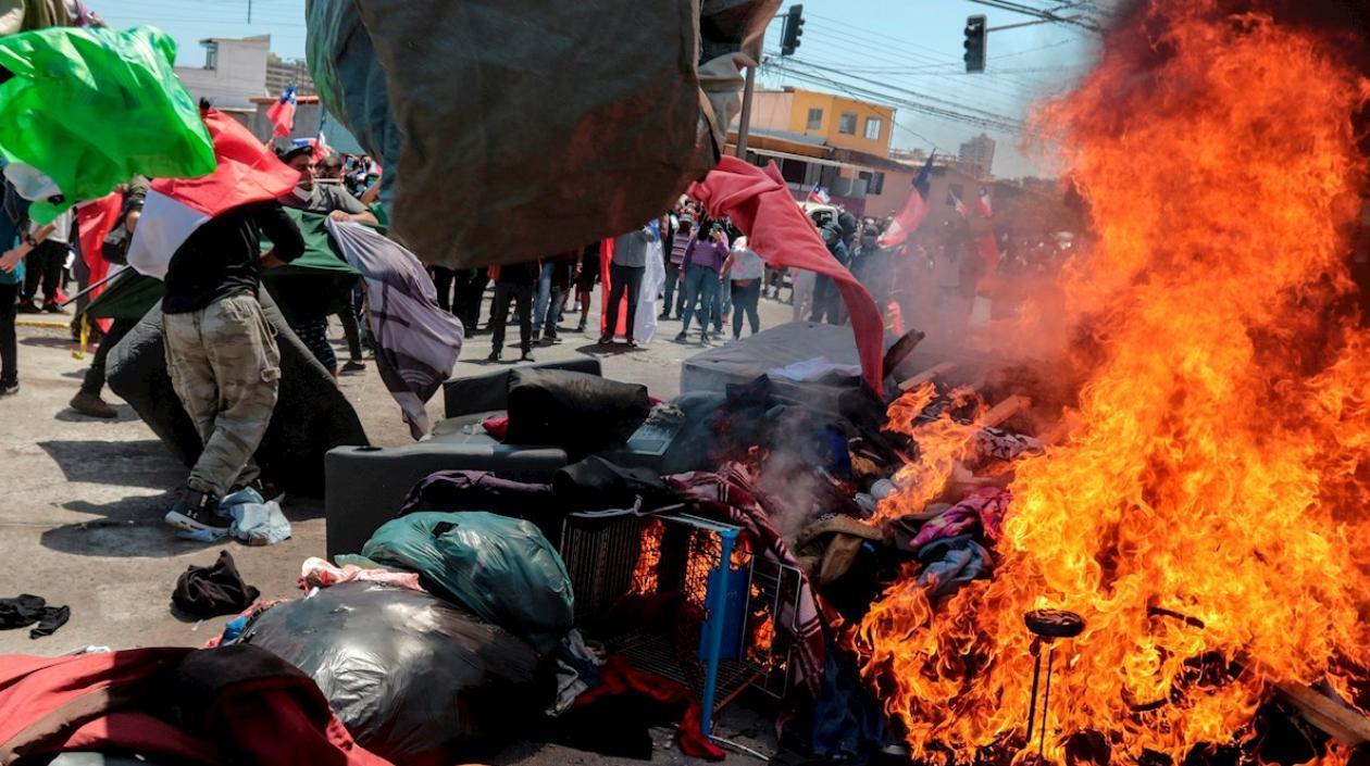 ONU califica de «inadmisible humillación» el ataque a migrantes venezolanos en Chile