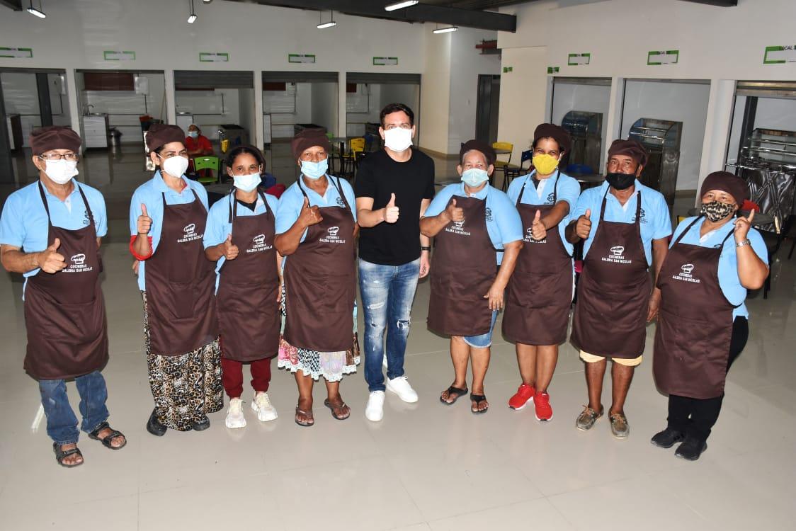 Cocineras del Centro pondrán su sazón en nueva plazoleta de comidas en San Nicolás – @alcaldiabquilla