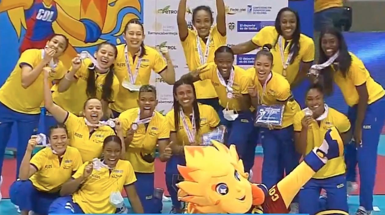 Colombia hizo historia clasificando al mundial femenino de voleibol 2022