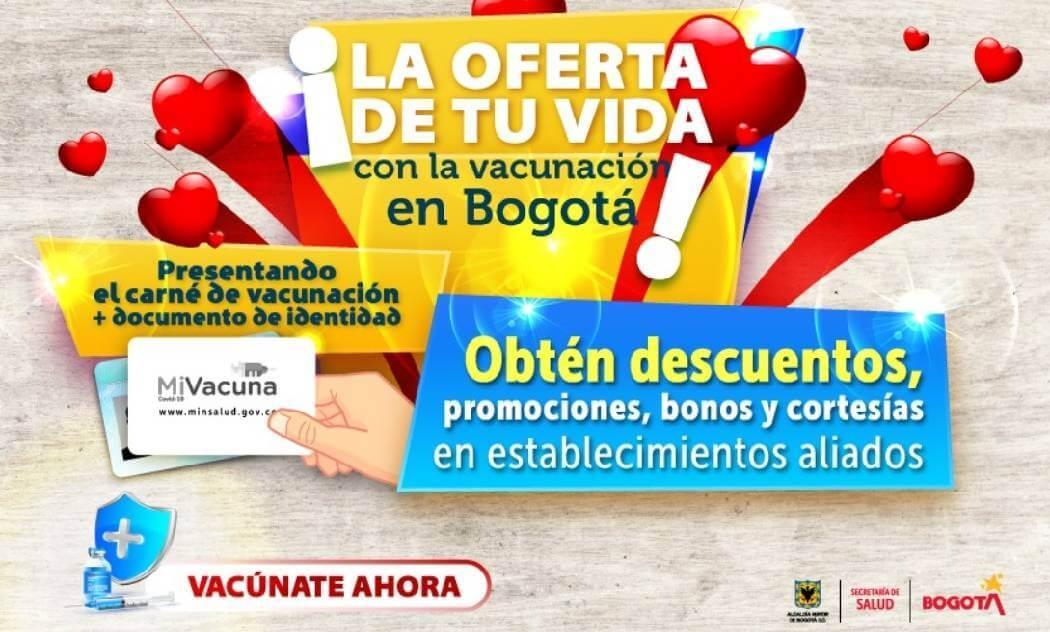 En Amor y Amistad presenta tu carné COVID y accede a descuentos y promociones -@Bogota