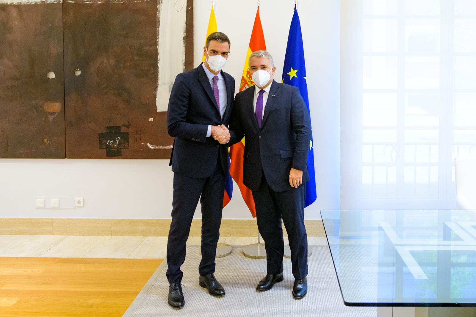 Presidente @IvanDuque se reunió este jueves con el Rey Felipe VI de España
