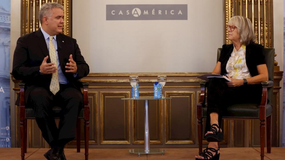 Duque: «Santos hubiera podido ahorrar muchos traumas a Colombia»