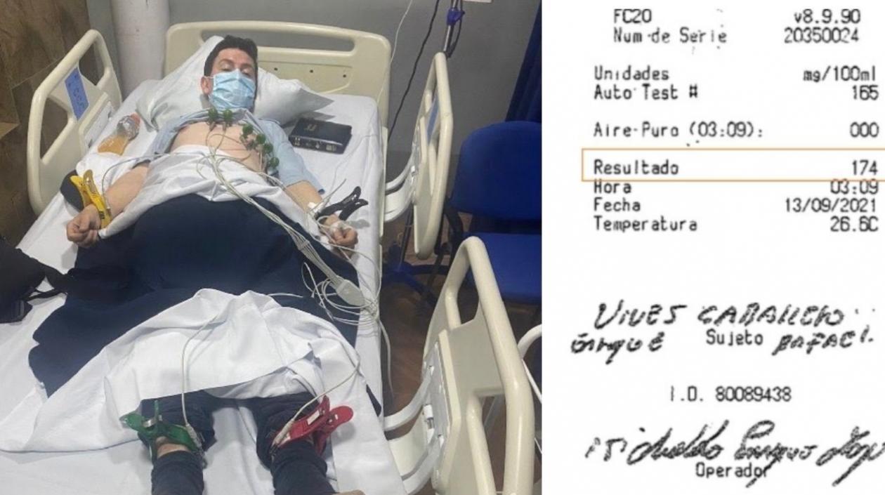 Conductor que protagonizó tragedia de Gaira tenía grado tres de alcohol