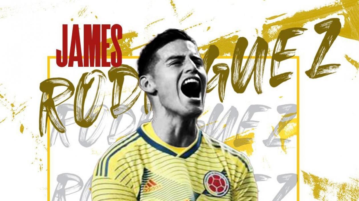 James Rodríguez fue confirmado como nuevo jugador del Al-Rayyan de Qatar