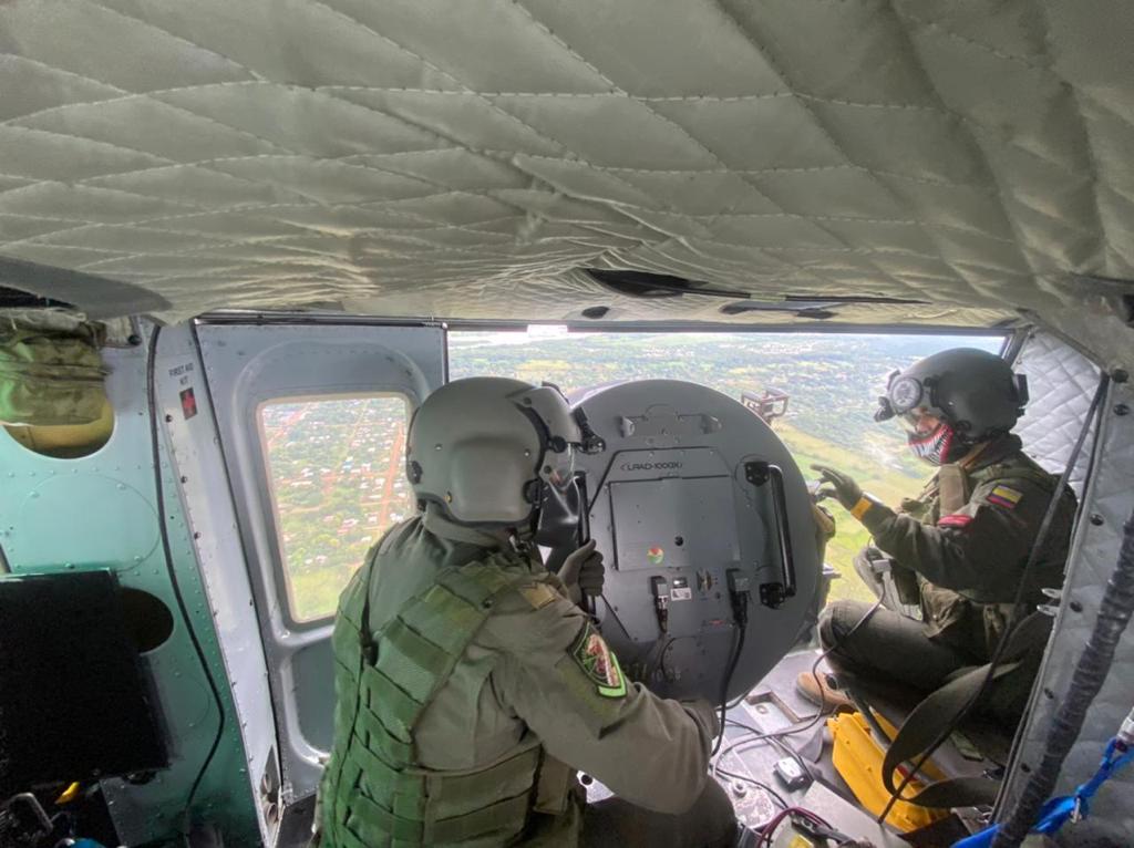 Perifoneo aéreo un aliado para la lucha contra el abigeato