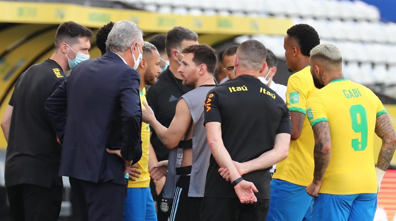 Proceso disciplinario contra Brasil y Argentina, por escándalo en Sao Paulo
