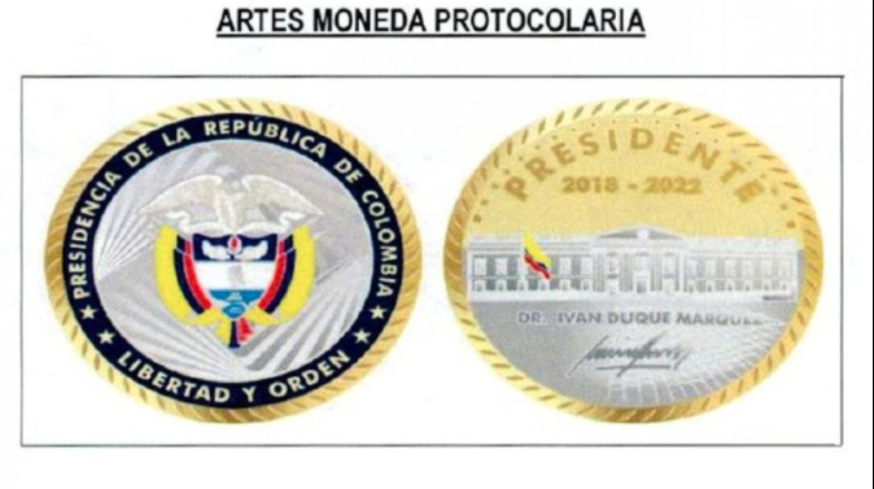 Gobierno Nacional firmó contrato para la creación de 1.409 monedas recubiertas en oro