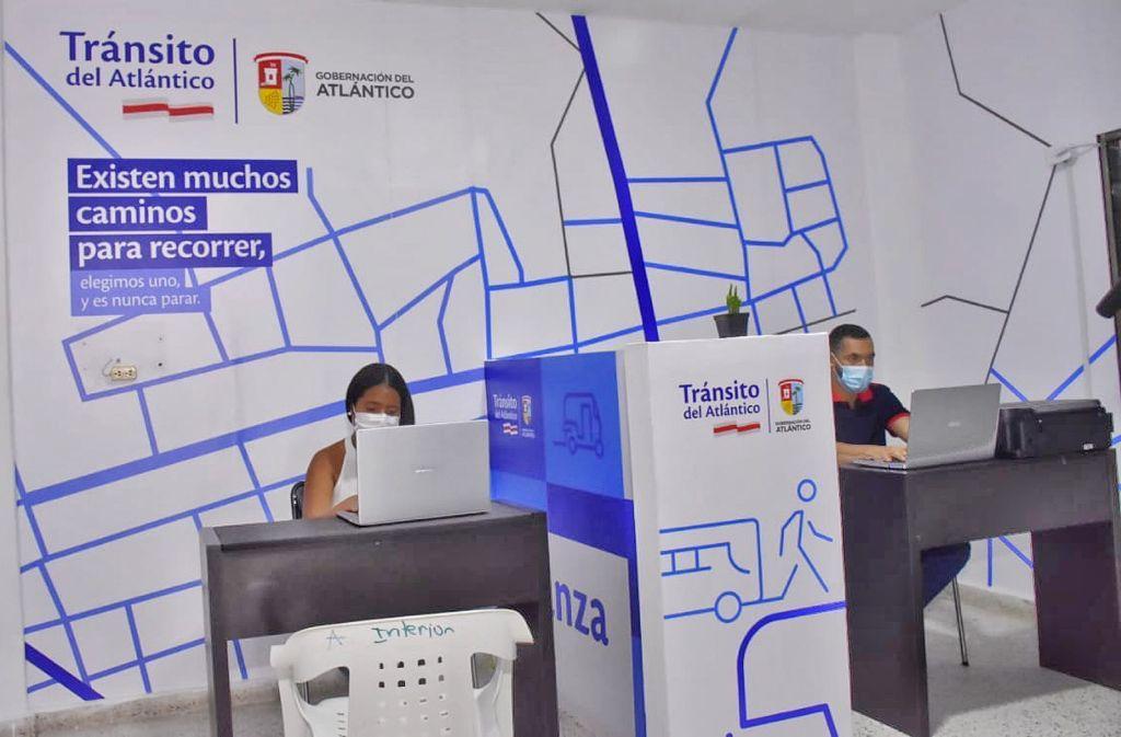 Tránsito del Atlántico inauguró en Juan de Acosta su primera oficina informativa – @TransitoAtl