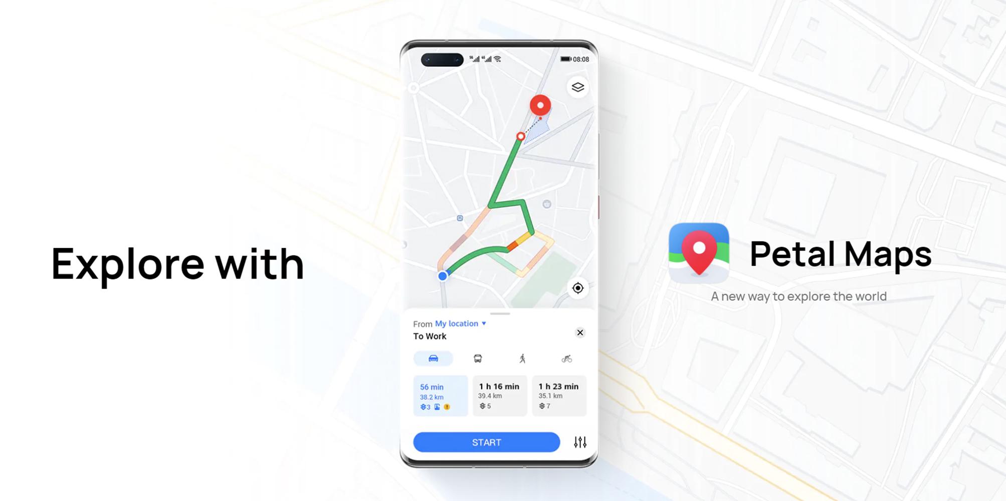 Mayor privacidad y seguridad con las funciones de Petal Maps para evitar el robo de datos y su uso indebido