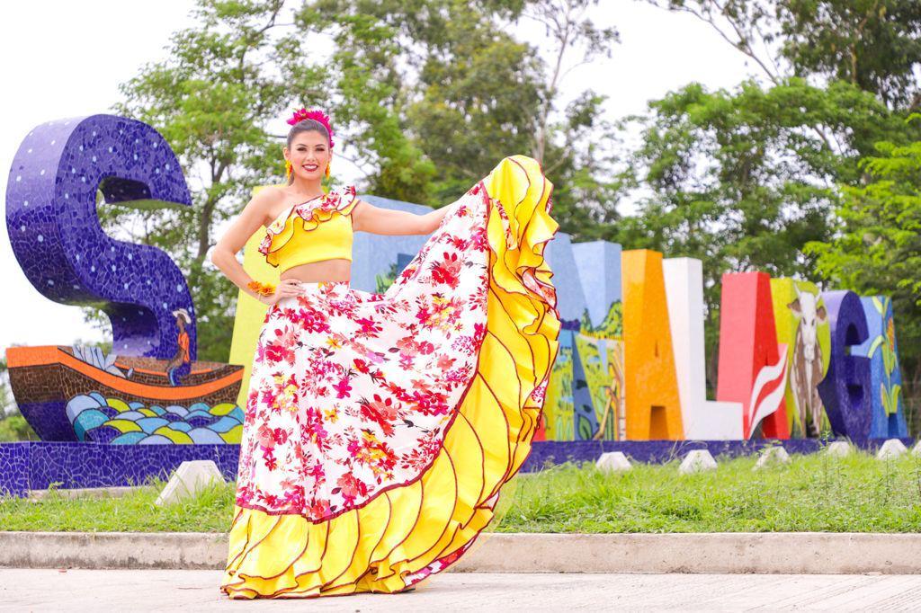 Se movió el Carnaval con Valeria en Sabanalarga