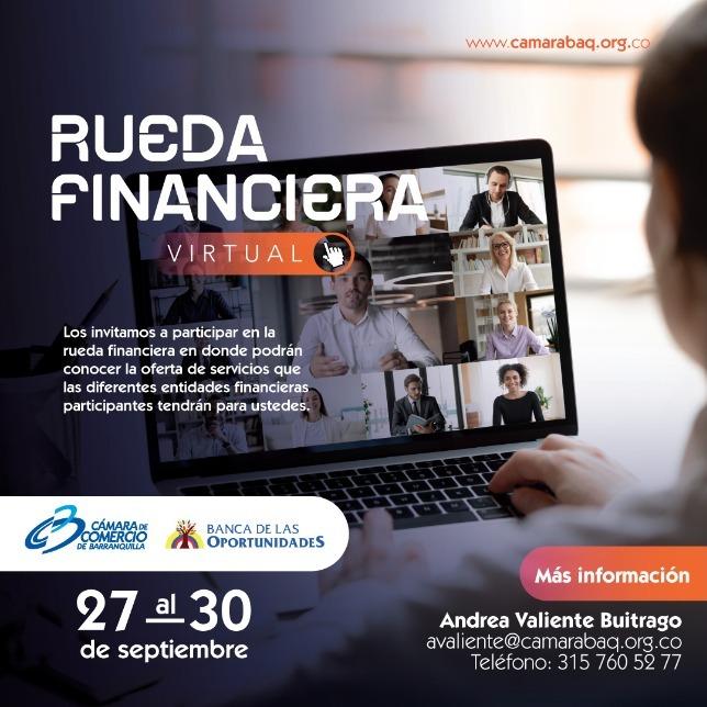 Encuentra las mejores alternativas de crédito en la segunda Rueda Financiera virtual – @Camarabaq