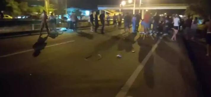 Seis muertos en el Magdalena tras ser arrollados por conductor en aparente estado de embriaguez