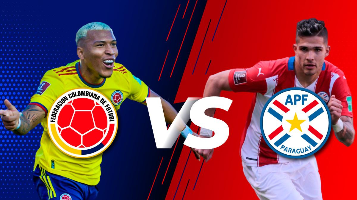 Cambio de horario en el partido de Colombia vs. Paraguay