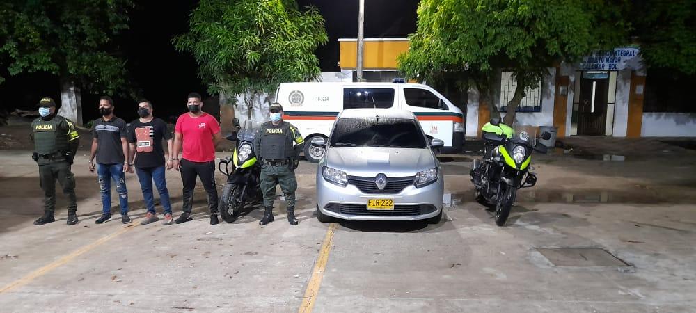 Capturan a tres hombres por hurto en Cartagena (Bolívar)
