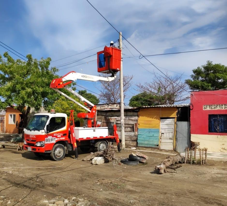 Sectores de Sabanalarga tendrán mejora de sus redes eléctricas este jueves – @aire_energia