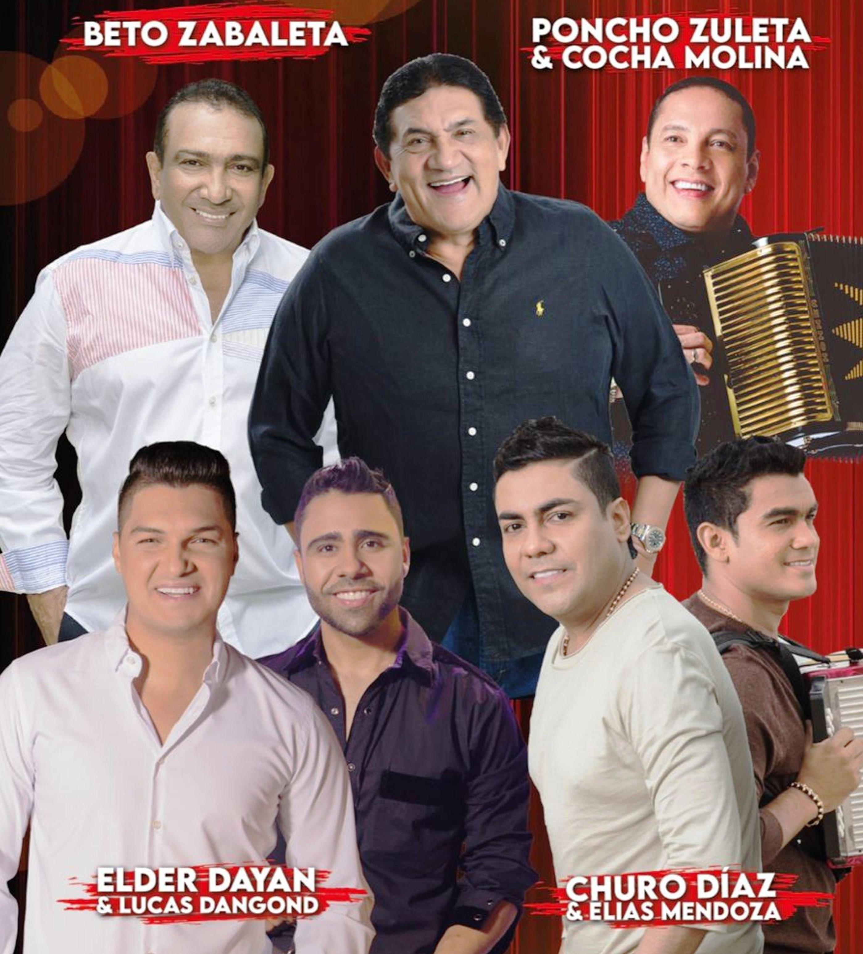 Dos grandiosos conciertos en el Parque de la Leyenda Vallenata 'Consuelo Araujonoguera' los días 16 y 17 de octubre