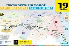 ¡Tome papel y lápiz! La nueva ruta zonal que conectará a Suba Corpas con El Recreo