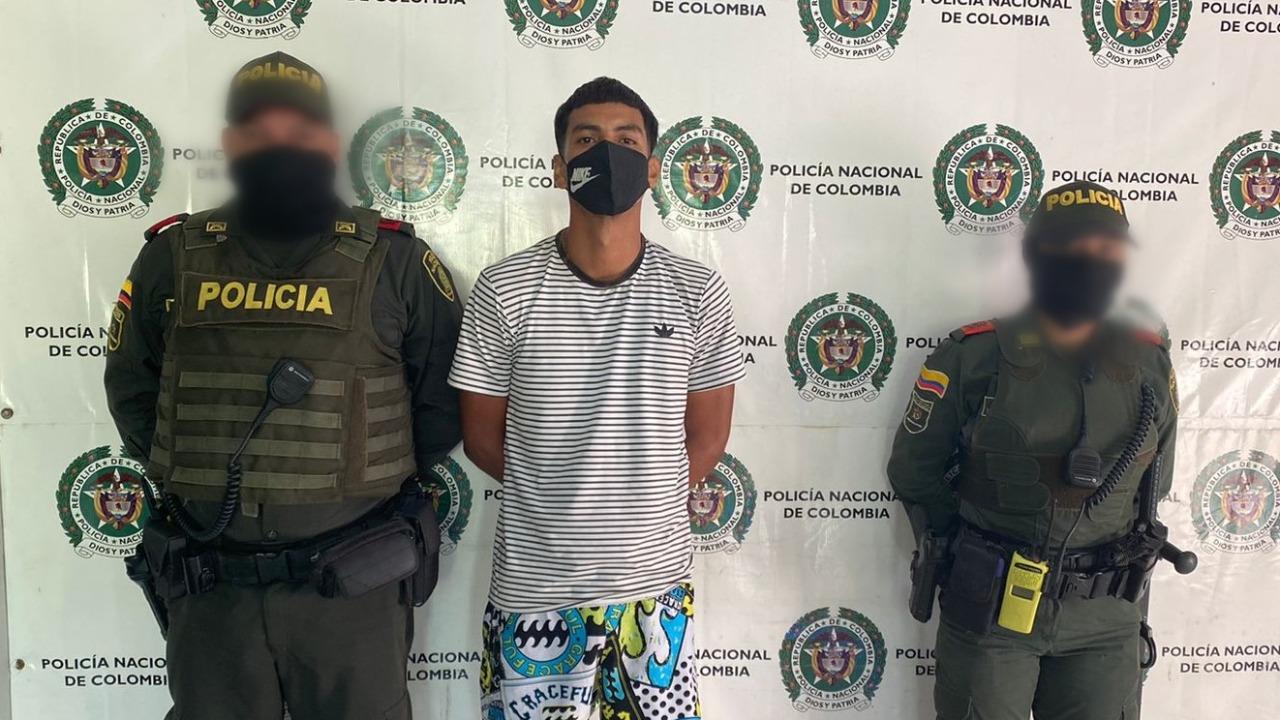 La policía del Magdalena contra arresta el crimen en los municipios