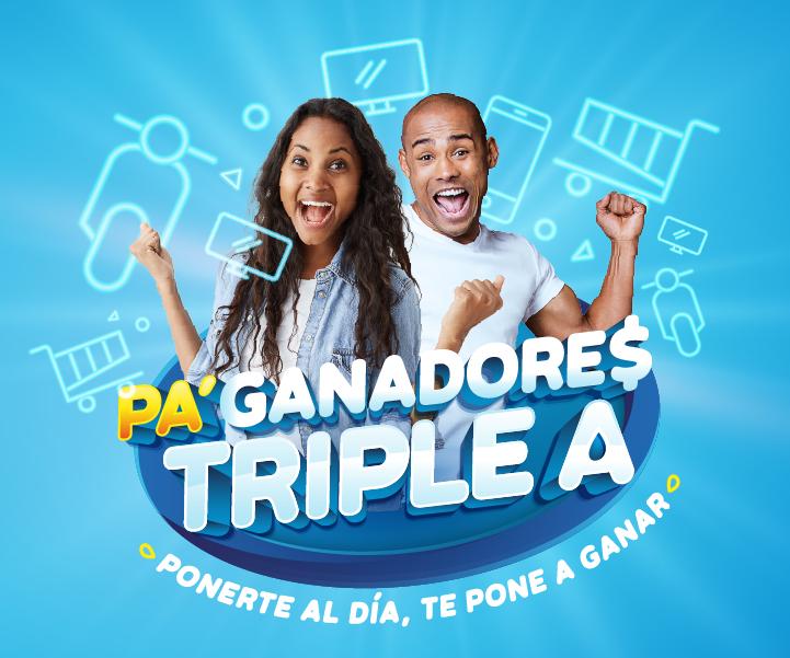 Llega Pa'Ganadores Triple A – @somostripleA