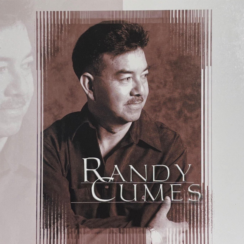 """Randy Cumes la voz romántica de las baladas rememora su primer trabajo discográfico """"Randy Cumes"""