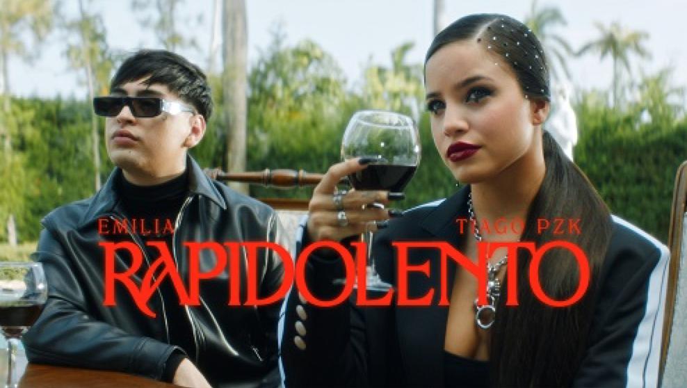 «Rápido lento» el nuevo sencillo de Emilia y Tiago PZK