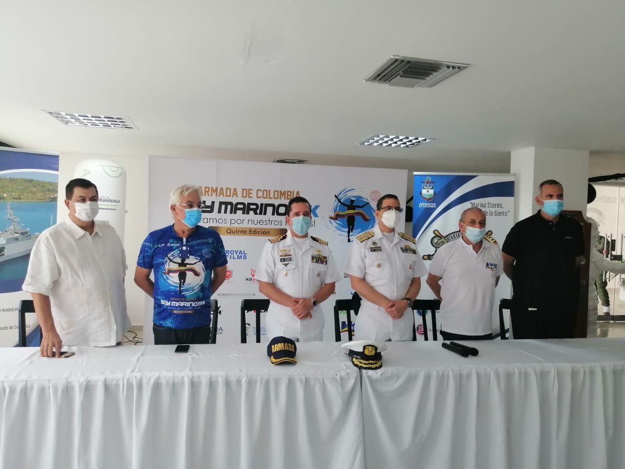 Soy Marino 2021: primera carrera presencial en Barranquilla tras la pandemia