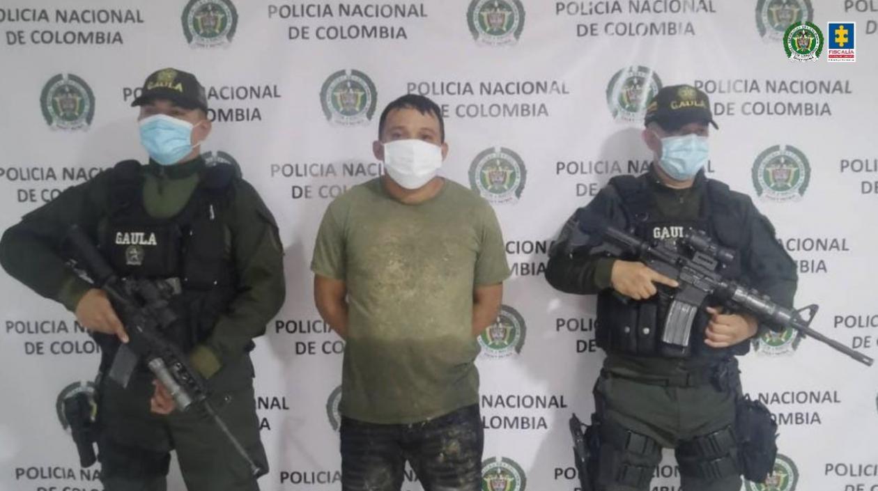Alias 'Doble 6', presunto integrante del 'Clan del Golfo' fue enviado a prisión