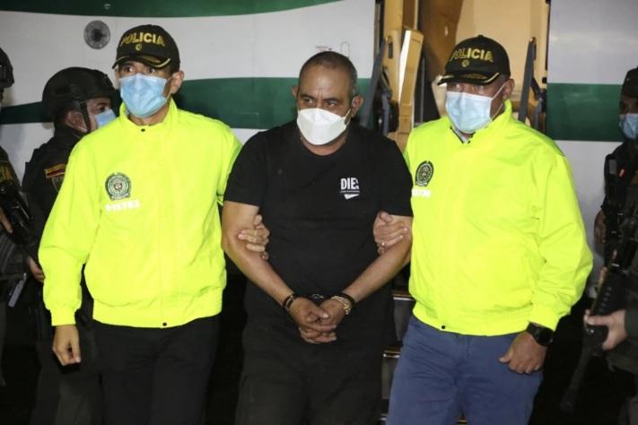 Colombia recibió el escrito de acusación contra alias 'Otoniel' para su extradición a Estados Unidos