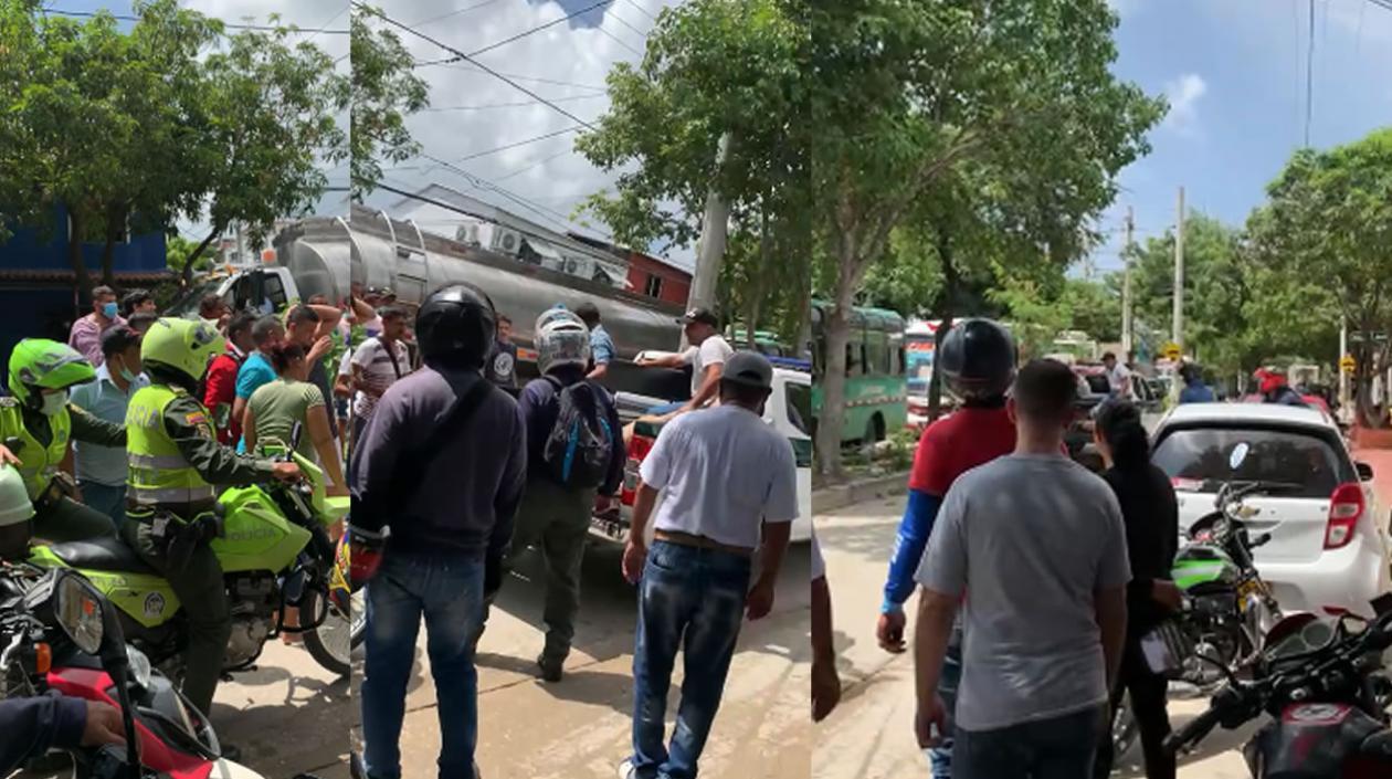 Hieren a hombre que fue baleado en el barrio Los Robles en Soledad