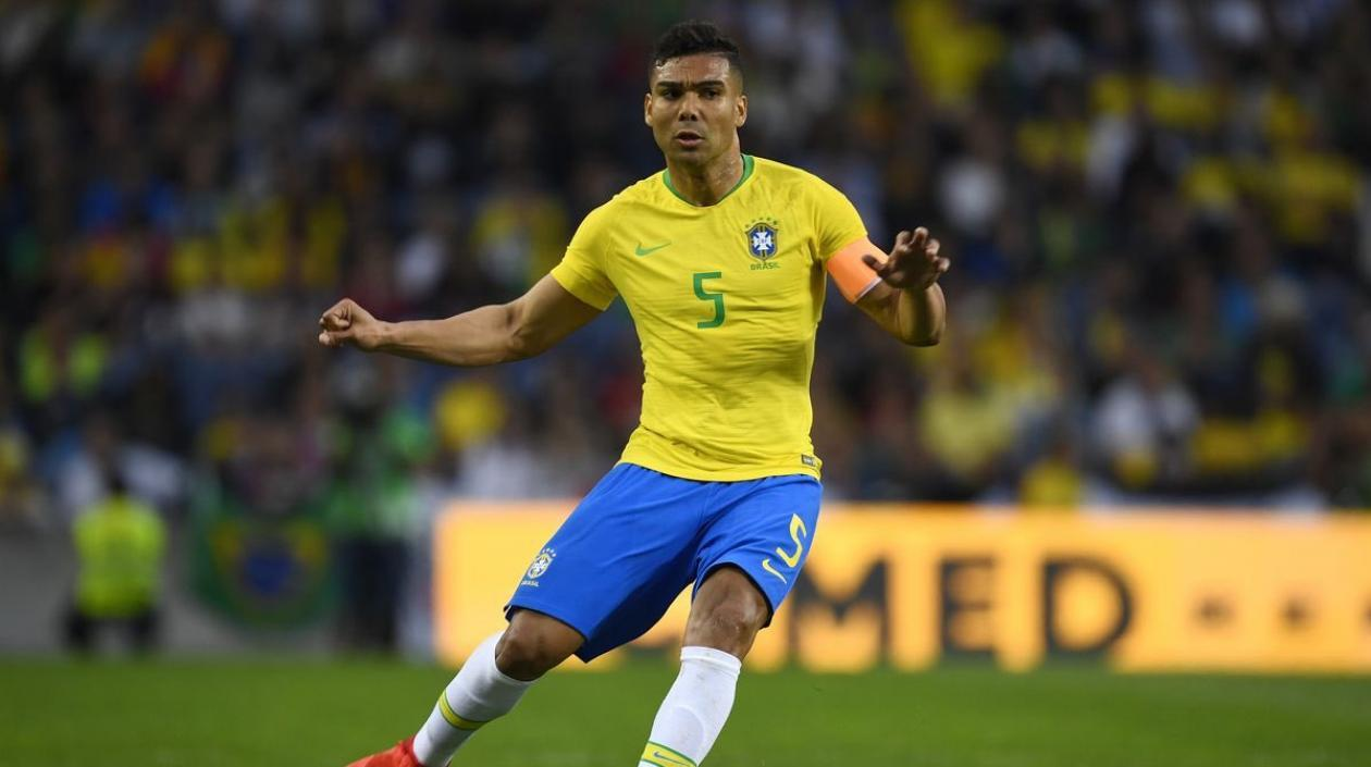 Casemiro, en duda para la triple fecha de Eliminatorias con Brasil