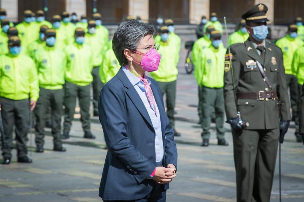 500 nuevos policías llegan a Bogotá a reforzar seguridad y mejorar convivencia – @Bogota
