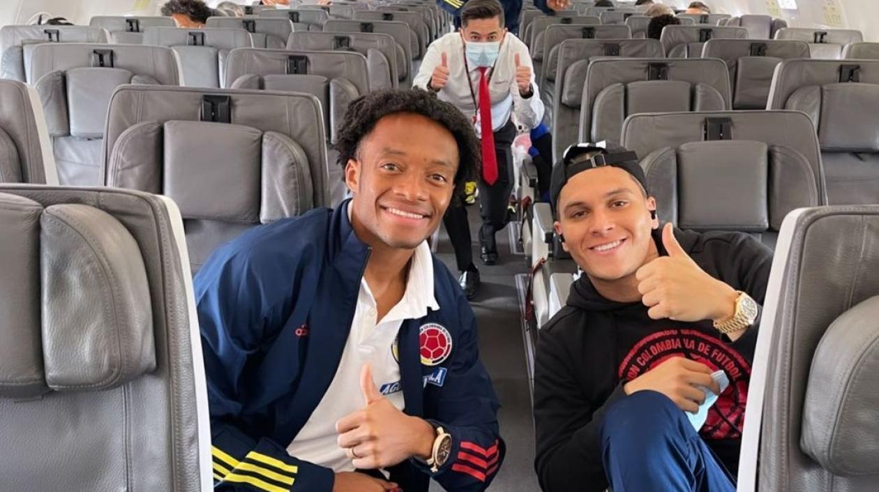Colombia se encuentra en Montevideo para batallar contra Uruguay en Eliminatorias