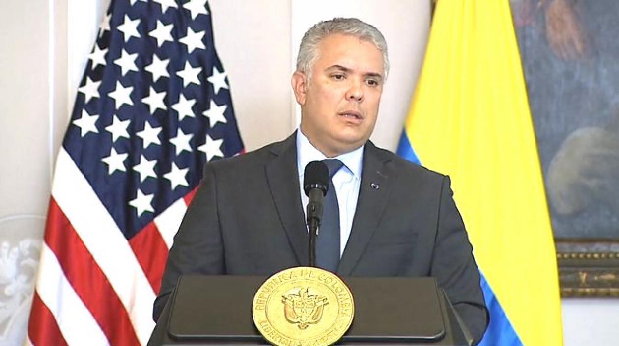 """Iván Duque: """"Colombia no reconocerá «dictadura oprobiosa» en Venezuela"""""""