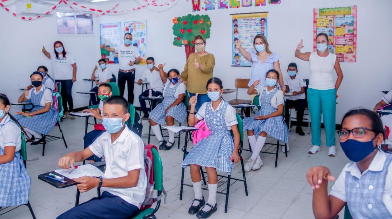 Secretaria de Educación de Medellín visitó Barranquilla, para conocer programas implementados – @alcaldiabquilla