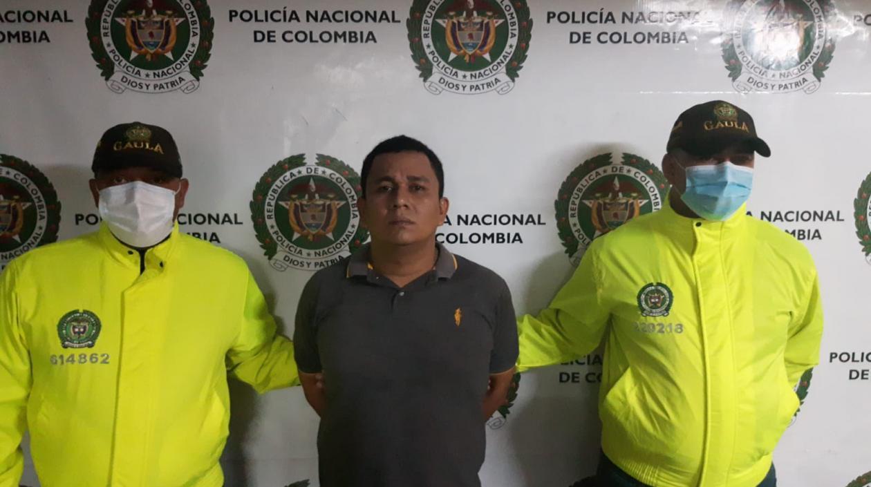 Alias 'Negro Ober', cabecilla de los 'Rastrojos-Costeños' fue capturado en Melgar, Tolima