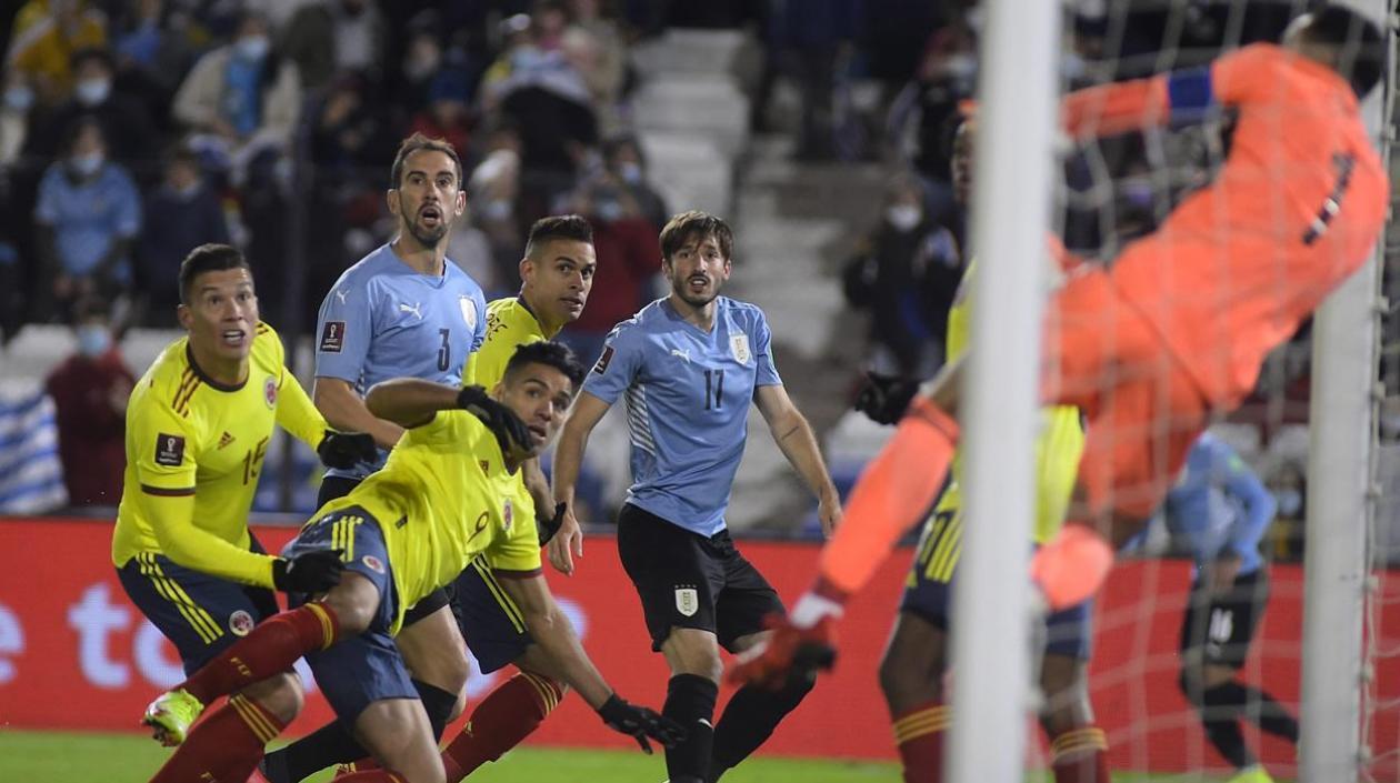 En tablas!!! Colombia empató sin goles en Montevideo ante Uruguay