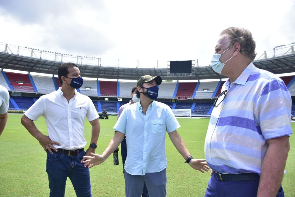 """""""Barranquilla está lista para vivir una gran fiesta del fútbol"""": alcalde Pumarejo – @jaimepumarejo"""