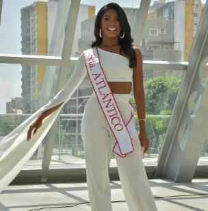 Geraldine Quiroz, representante del Atlántico 2021 en el Concurso Nacional de Belleza – @ReinadoColombia