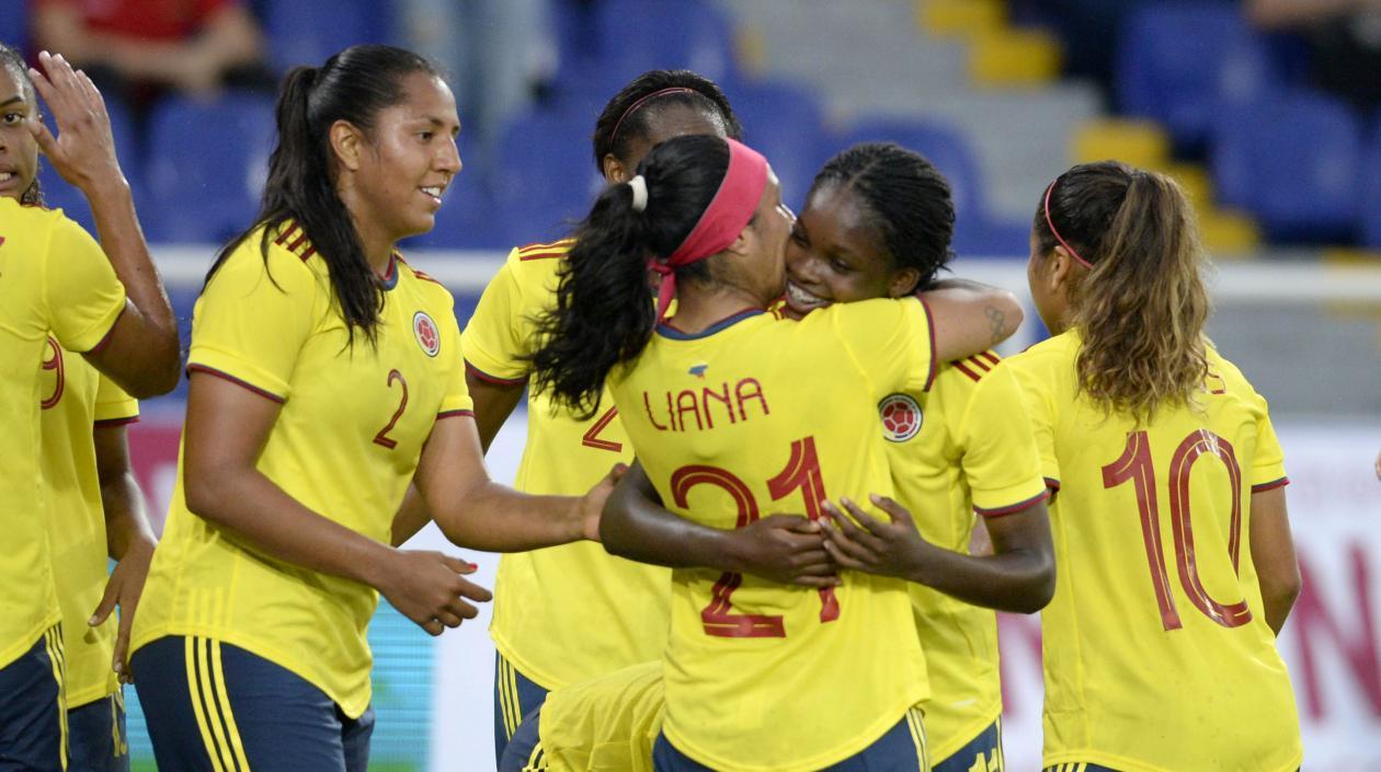 Colombia femenina le ganó a Chile en partido de preparación en Cali
